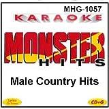 Monster Hits Karaoke #1057 - Male Country Hits