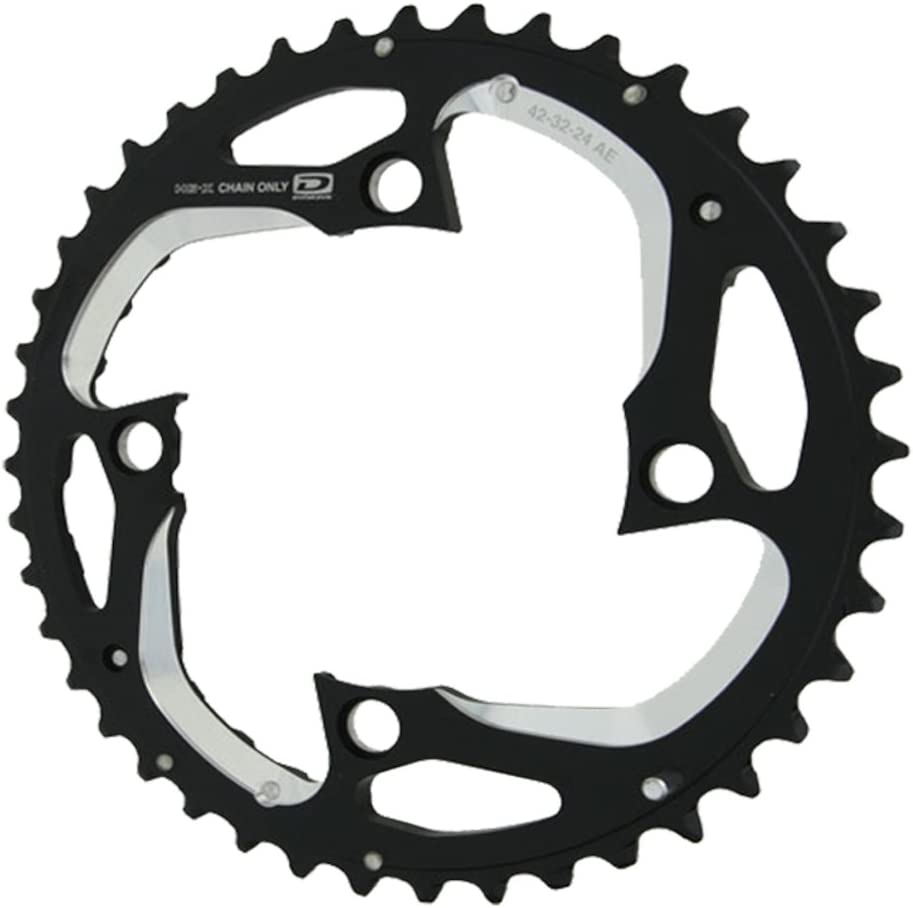 SHIMANO XT M780 24T X 64MM 10-SPEED AE-TYPE BICYCLE CHAINRING