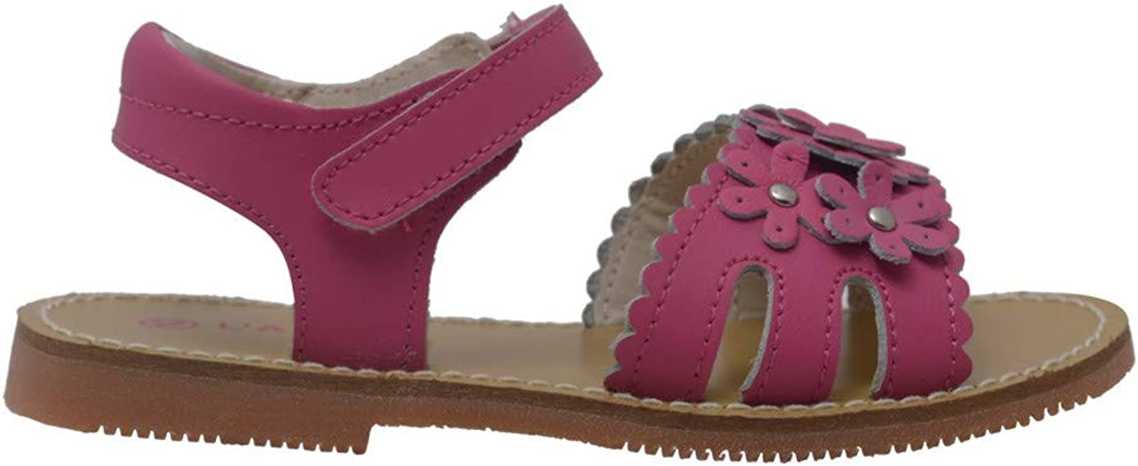 Josmo Girls Brown Buckle Accent Slip-On Casual Loafer Moccasins 11-4 Kids