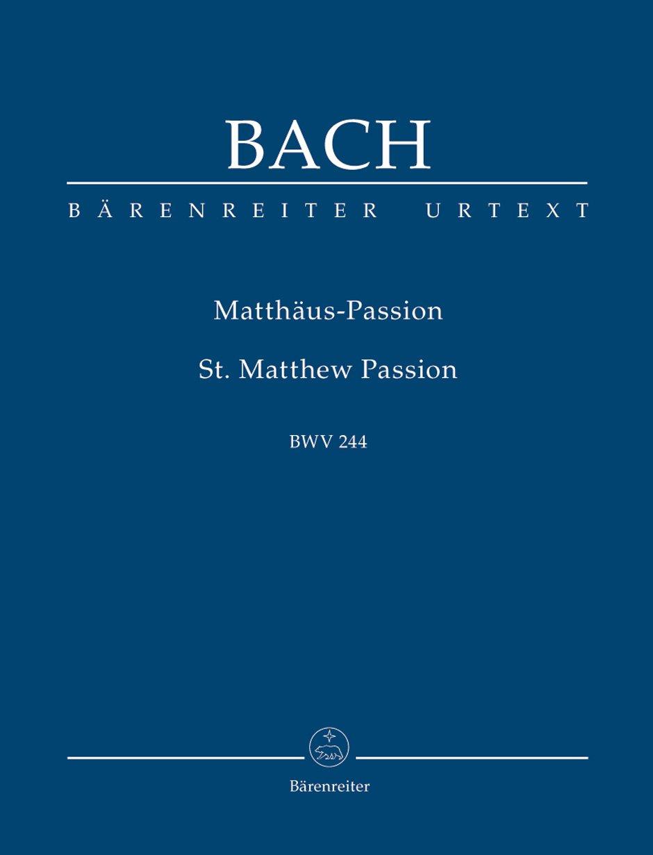Matthäus-Passion BWV 244. Studienpartitur