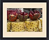 Framed Print of Asia,India,New Delhi, street vendor s cart with display of opened