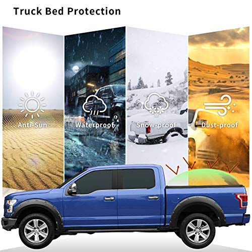 Oedro Roll Up Truck Bed Tonneau Cover Compatible With Import It All