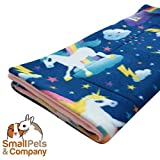 Guinea Pig Fleece Cage Liner for Midwest Habitat | Guinea Pig Bedding | Guinea Pig Fleece | Unicorn Dreams