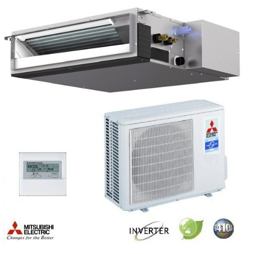 Mitsubishi SEZ/SUZ-KD18NA Indoor/Outdoor Up to 17.5 SEER ...