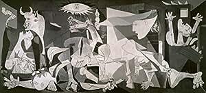 Zig Zag Art - Guernica' Por Pablo Picasso - lamina o impresion de alta calidad (tamaño de imagen 140 cm W x 70 cm H)