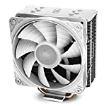 DEEP-COOL-GAMMAXX-GTE-V2-WHITE-CPU-Air-Cooler-with-4-Heatpipes-120mm-PWM-Fan-with-White-LED-White-Top-Cover-with-Logo-For-IntelAMD-AM4-Compatible
