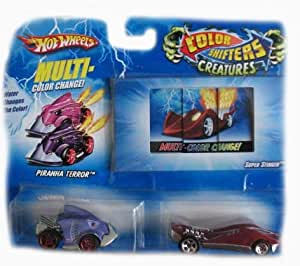 Amazon Com Hot Wheels Color Shifters Creature Cars