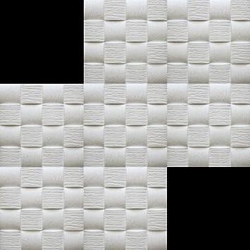 30 M /² Plaques Polystyr/ène Coinc/é Plafond D/écor Plaques 50x50cm Welle 2