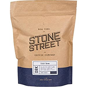 Stone Street Coffee Cold Brew Reserve Colombian Supremo Whole Bean Coffee - 1 lb. Bag - Dark Roast