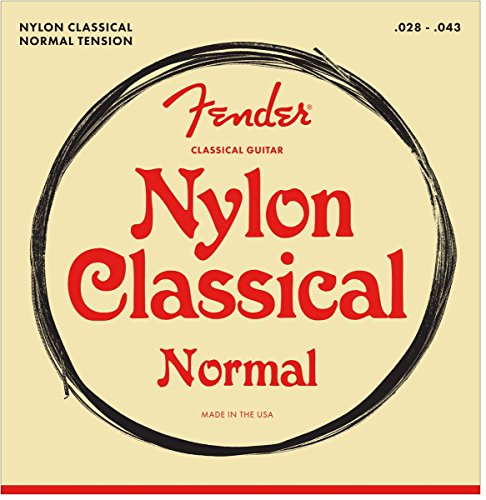 Fender Classical/Nylon Guitar Strings (Acoustic Classical String Basses)