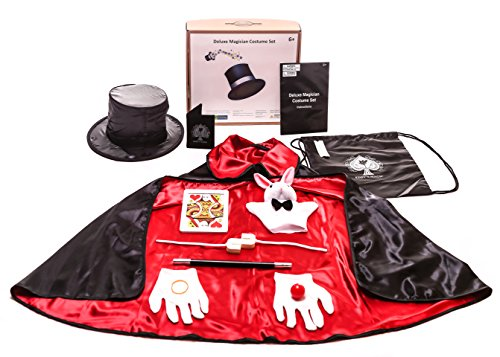 12 Pc Kids Magician Costume Set