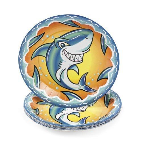 Jawsome Shark Dessert Plates (8 pc)