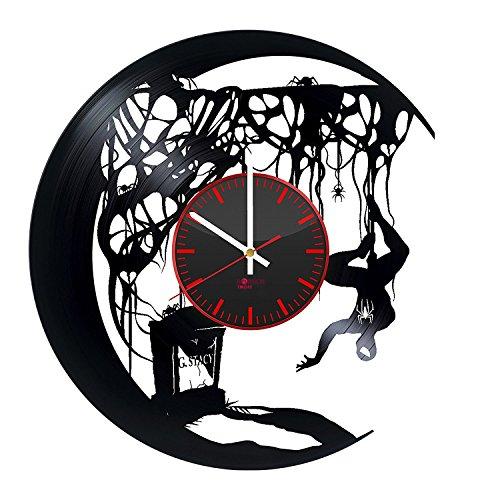 Superhero Silhouette Design Vinyl Record Wall Clock - Get