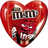 M&MS Valentines Milk Chocolate Candy Hearts 0.93-Ounce Heart 12-Count Box
