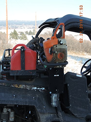 Universal UTV Roll Bar Chainsaw Mount RCM-3012 by Hornet Outdoors (Image #3)