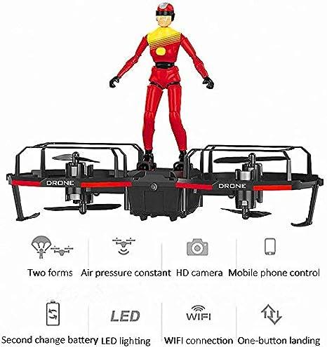 ZHTY Paracaídas de Drones con Control Remoto Biaxial WiFi ...