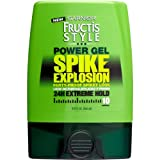 Garnier Fructis Power Gel, Spike Explosion, 24h Extreme Hold 10, 9 oz- Pack of 4