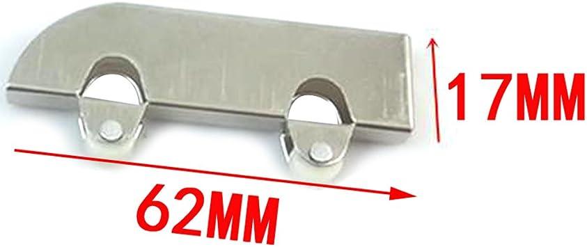 5 mm de grosor de la rueda de cristal/ventana corredera de cristal puerta rueda/Rueda de vuelo/cristal puerta corredera polea rueda: Amazon.es: Bricolaje y herramientas