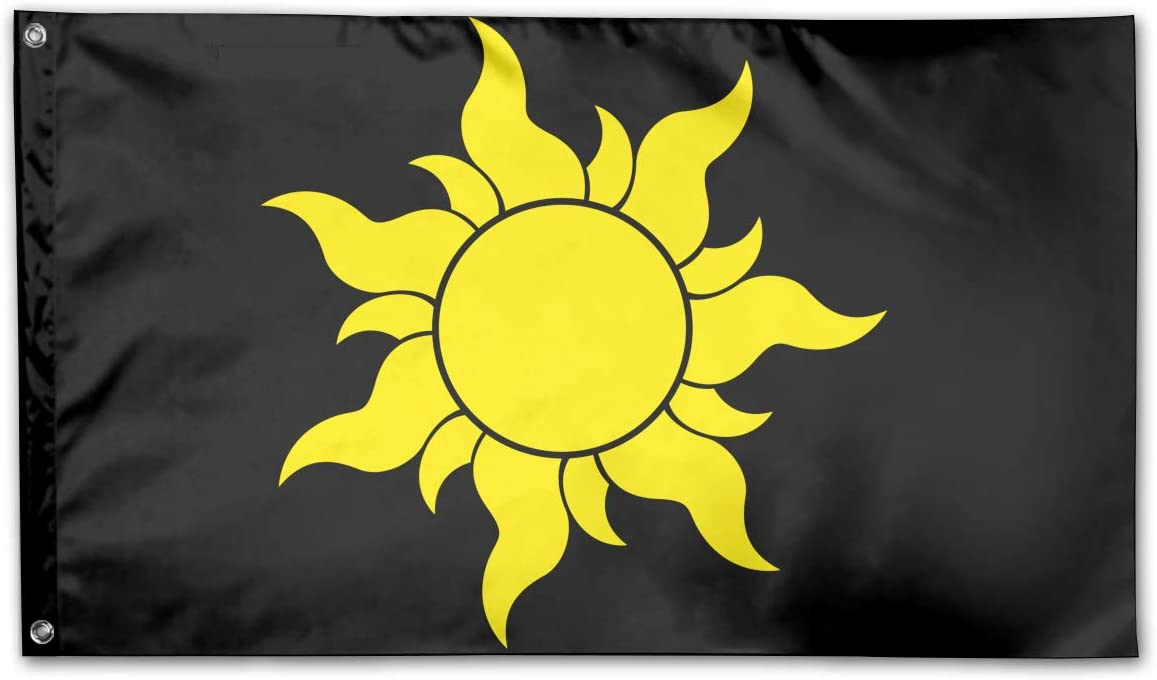 Amazon Com Tangled Sun Symbol Home Flags 3 X 5 In Indoor Outdoor Decorative Home Fall Flags Holiday Decor Sports Outdoors