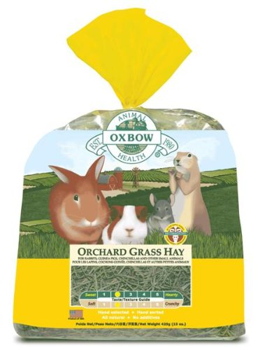 Oxbow Orchard Grass Hay - 9 lbs by Oxbow Animal Health