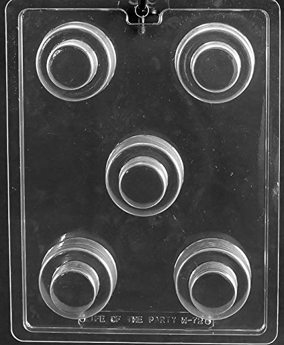 Wedding Cookie Cake Chocolate Mold W072 Includes National Cake Supply Melting /& Chocolate Molding Instructions