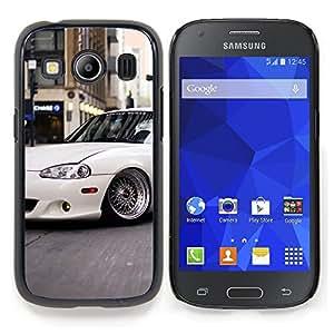 "Qstar Arte & diseño plástico duro Fundas Cover Cubre Hard Case Cover para Samsung Galaxy Ace Style LTE/ G357 (Slammed Miata"")"