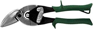 product image for Midwest Tool & Cutlery Aviation Snip - Right Cut Offset Tin Cutting Shears with Forged Blade & KUSH'N-POWER Comfort Grips - MWT-6510R, Offset Cut