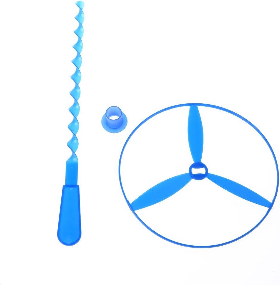 Paquet de 12 SimpleLife Soucoupes Volantes Twisty Pull String Libellule Jouet Disque Volant Jouets pour Enfants H/élicopt/ères Enfants Jouets Cadeaux