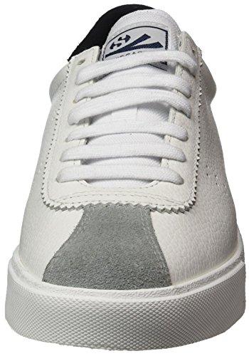 White Black Blanco Etumbleleasueu Superga para Mujer Zapatillas 2843 Wq0XfwXY