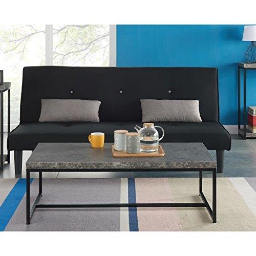 Impakt Table Basse 115X55 Cm - Noir Et Effet Béton: Amazon.Fr