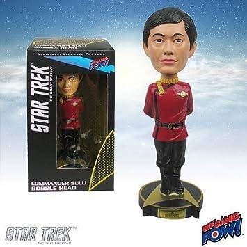 Star Trek Ii The Wrath Of Khan Commander Sulu Bobble Head By Bif