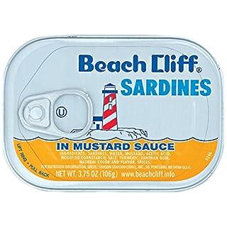 Beach Cliff Beach Cliff Sardines In Mustard Sauce, 3.75oz Can, 3.75 Ounce