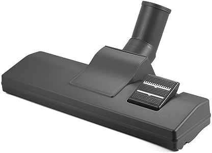 ZXX Cepillo para Aspirador de diámetro de 32 mm, Boquilla enroscable con cerdas de Verdadero Pelo de Caballo para Suelo de parquet, Color Negro: Amazon.es: Hogar