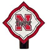 NCAA Nebraska Cornhuskers Vintage Art Glass Nightlight