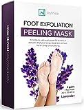 Foot Peel Mask For Feet Peeling 2 pack-Exfoliator off Peeling Gel Socks Booties - Exfoliating Dry Dead Cracked Rough Skin Heels Calluses - Callus Remover - Smooth and Soft Touch in 2 Weeks-Men Women