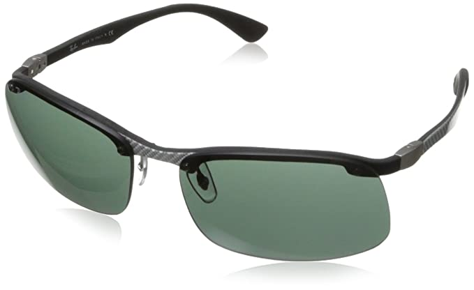 RAY BAN Gafas de sol RB 8314 125/71 Light Carbon Caucho ...