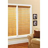 Better Homes and Gardens 2' Faux Wood Windows Blinds, Oak