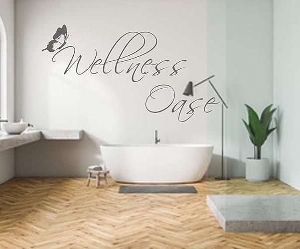 Furniture Stickers Wandtattoo Spruch Wellness Oase Badezimmer Wanddeko Wandaufkleber Home Furniture Diy Breadcrumbs Ie