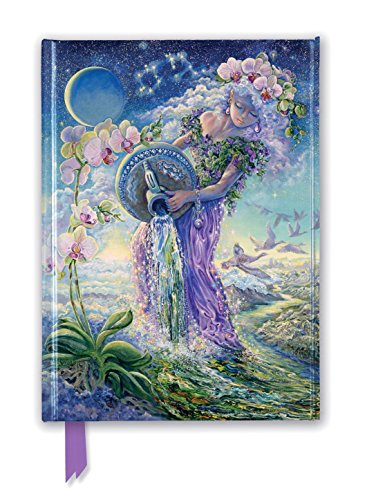 Josephine Wall: Aquarius (Foiled Journal) (Flame Tree Notebooks)