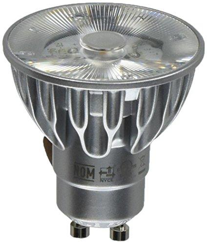 Bulbrite SM16GA-07-10D-827-03 SORAA 7.5W LED MR16 2700K PREMIUM 10 120V GU10 Dimmable Light Bulb, Silver