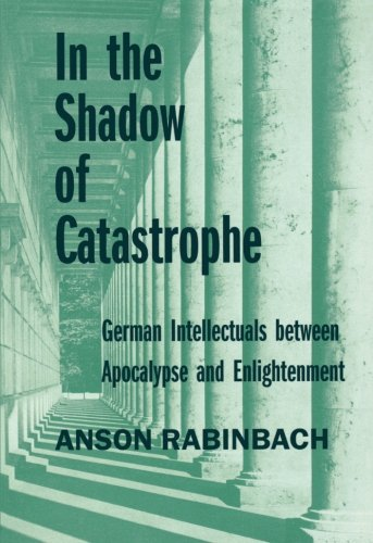 In the Shadow of Catastrophe: German Intellectuals Between Apocalypse and Enlightenment (Weimar and Now: German Cultural Criticism) thumbnail
