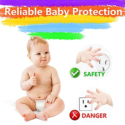 Outlet Plug Covers(36Pack) Baby Safety Proof Electrical Protector Safety Caps, New and Improved Baby Safety Plug Covers
