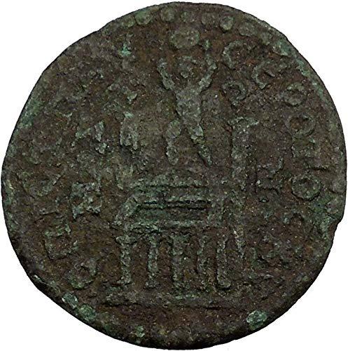 PHILIP I 244AD ATLAS Holds Globe Pillars of Hercules Labor Roman Coin i44109