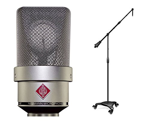 Neumann TLM 103 Nickel Cardioid Condenser Microphone + Ultimate MC-125 Stand