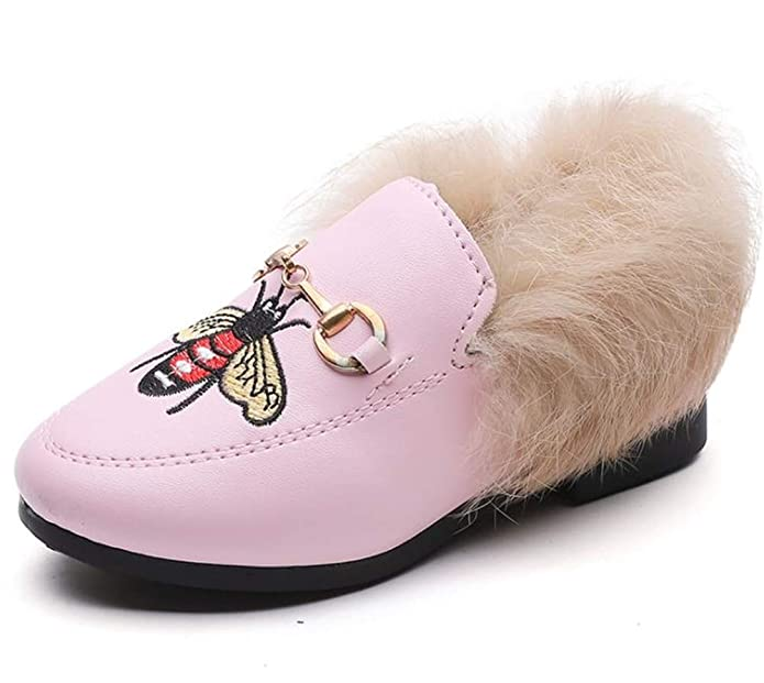 Fancyww Kids Winter Snow Boots Fur Lined Warm Outdoor Ankle Boots Shoes Girls Boys Toddler//Little Kid//Big Kid