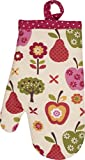 Handstand Kitchen Child's 100% Cotton Shell 'An Apple a Day' Oven Mitt