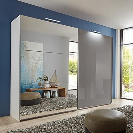 Armario de puertas correderas 270 cm de alto para el dormitorio de armario ropero: Amazon.es: Hogar