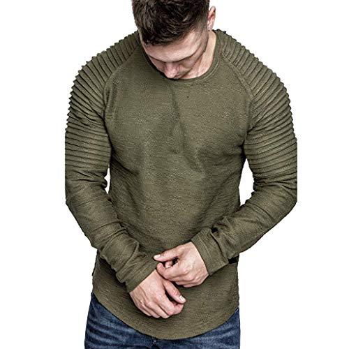 Ford Halloween Car Wash (FONMA Men Autumn Outwear Long Sleeve Blouse Letter Printed Sweatshirt Top)
