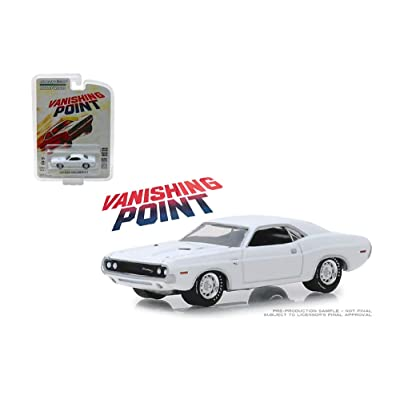 New DIECAST Toys CAR Greenlight 1:64 Hollywood Series 22 - Vanishing Point - 1970 Dodge Challenger R/T (White) 44820-A: Toys & Games