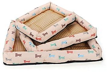 Hoyoo Cama para Mascotas, Cama Fresca para Perro de Verano,Alfombrilla de Refrigeración para